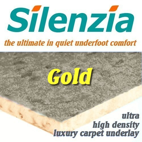 Silenzia Gold 11mm Ultra High Density Underlay